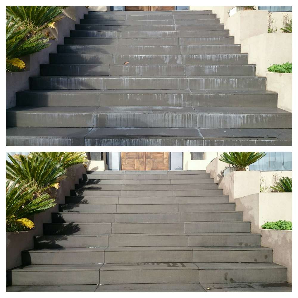 Outdoor Steps Paving